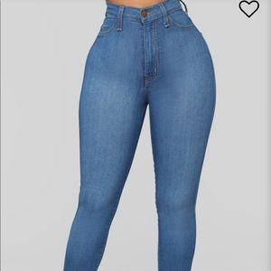 Fashion nova high waist jeans